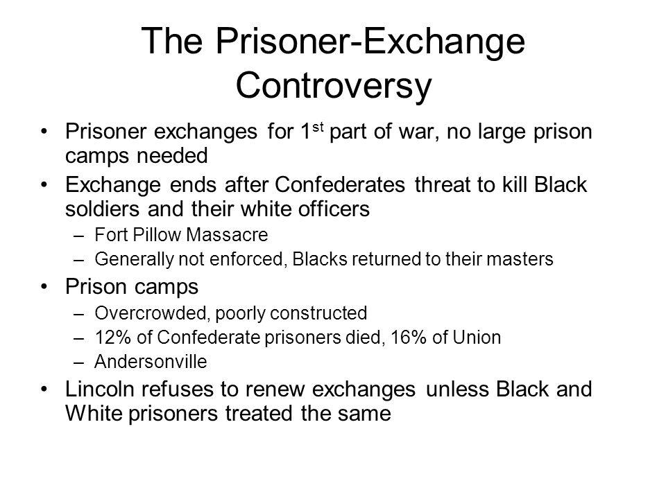 The Prisoner-Exchange Controversy