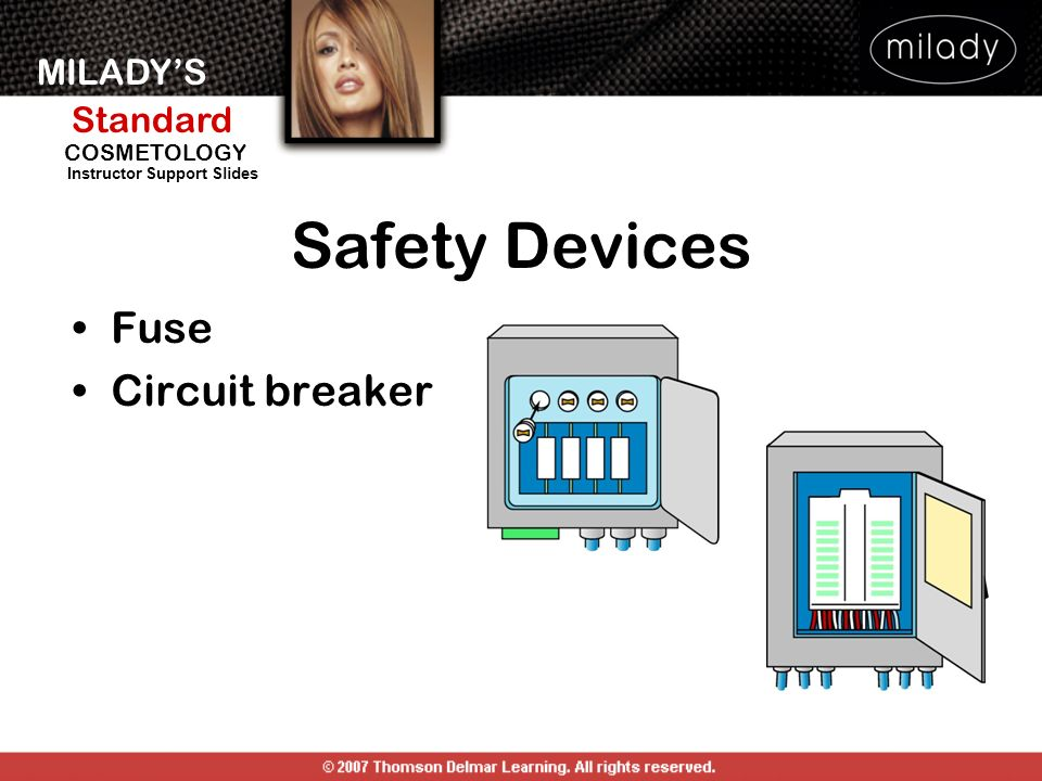 Safety Devices Fuse Circuit breaker SAFETY DEVICES