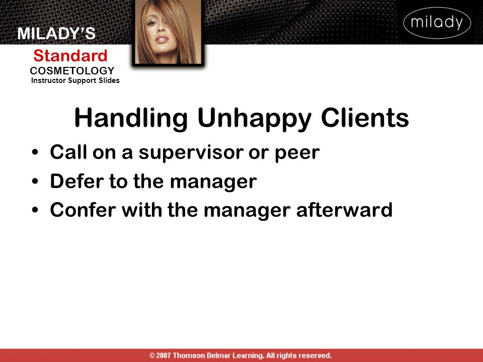 Handling Unhappy Clients