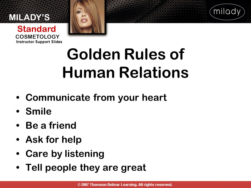 Golden Rules of Human Relations