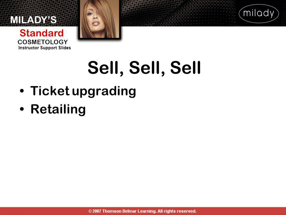 Sell, Sell, Sell Ticket upgrading Retailing DISCOVER THE SELLING YOU