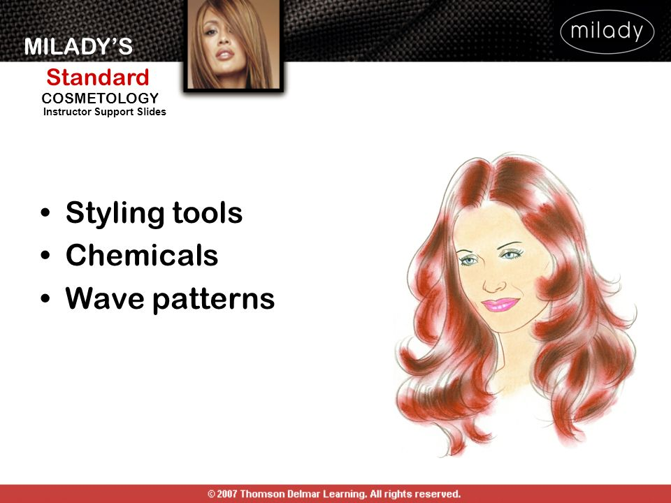 Styling tools Chemicals Wave patterns