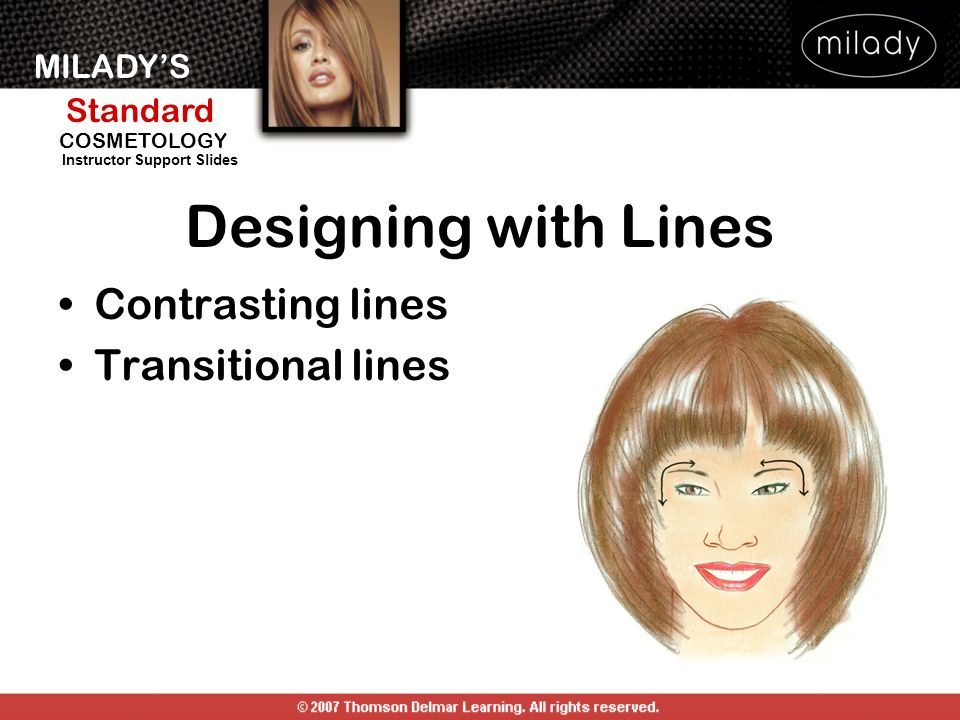 Designing with Lines Contrasting lines Transitional lines