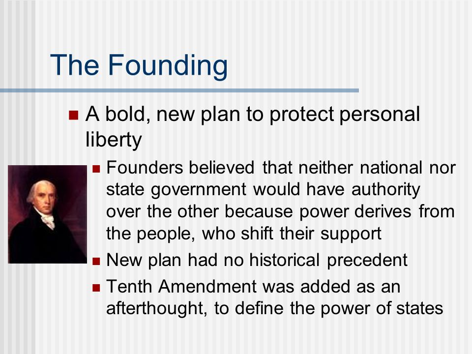 The Founding A bold, new plan to protect personal liberty