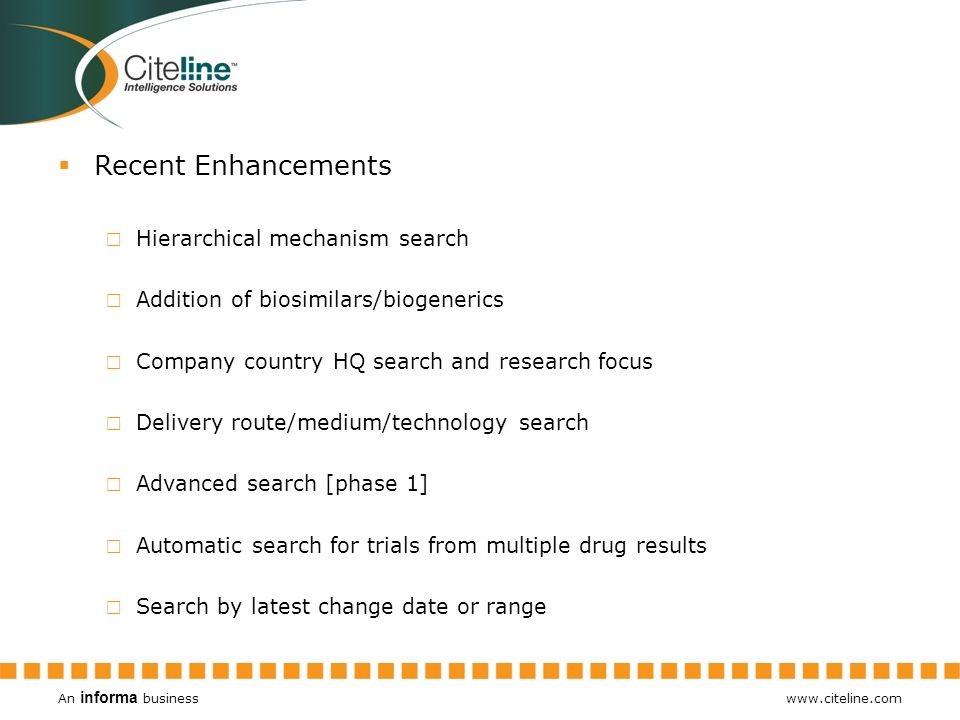 Recent Enhancements Hierarchical mechanism search