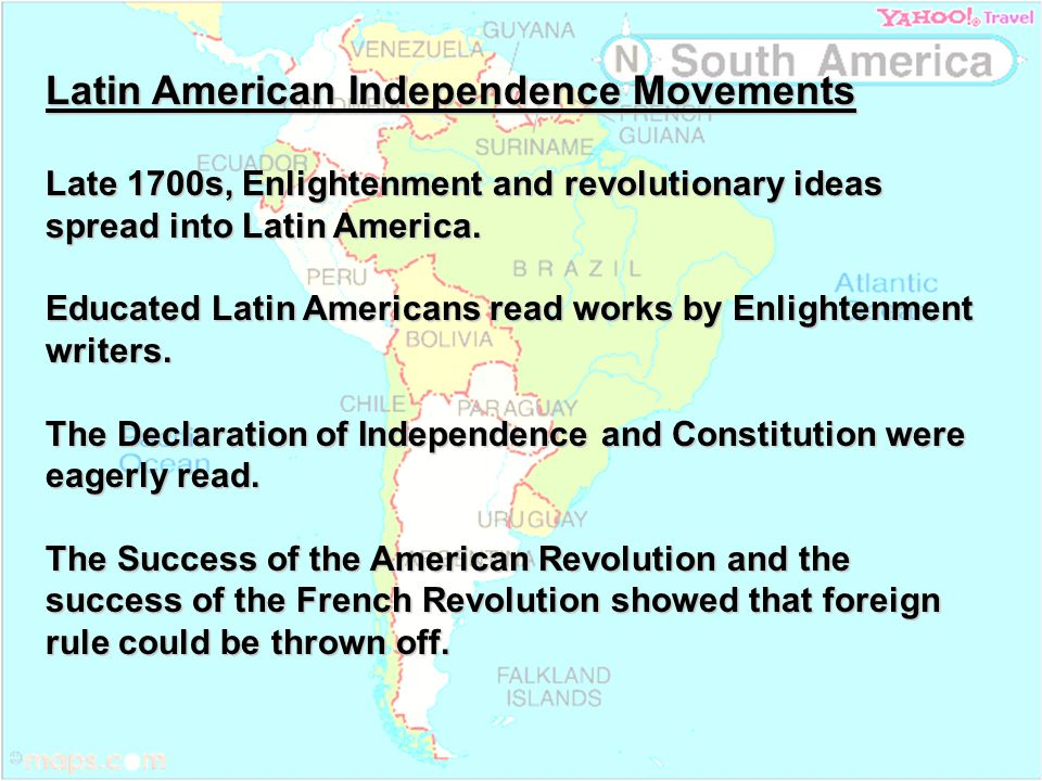 latin american revolution essay The tools you need to write a quality essay or term north american identity have differed greatly from those of latin american identity in latin america.