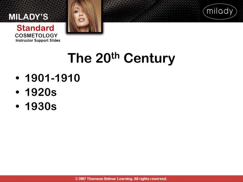 The 20th Century 1901-1910. 1920s. 1930s.