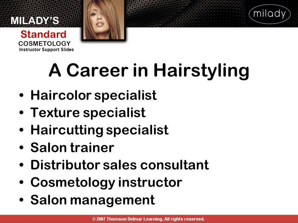 A Career in Hairstyling