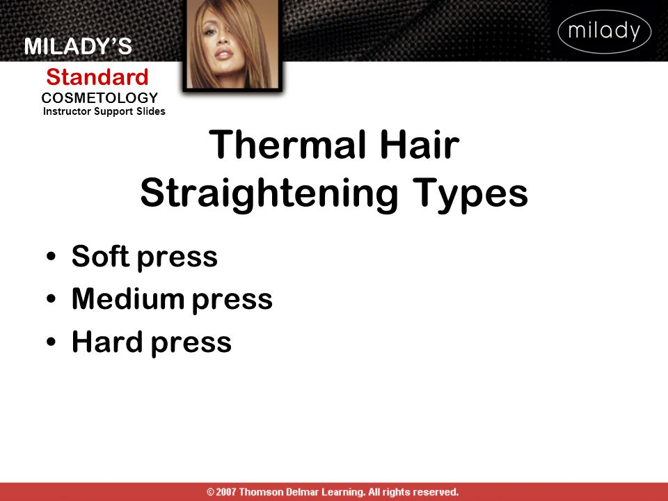 Thermal Hair Straightening Types