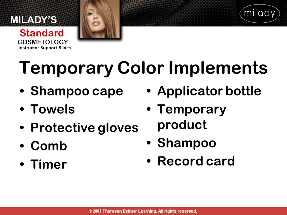 Temporary Color Implements