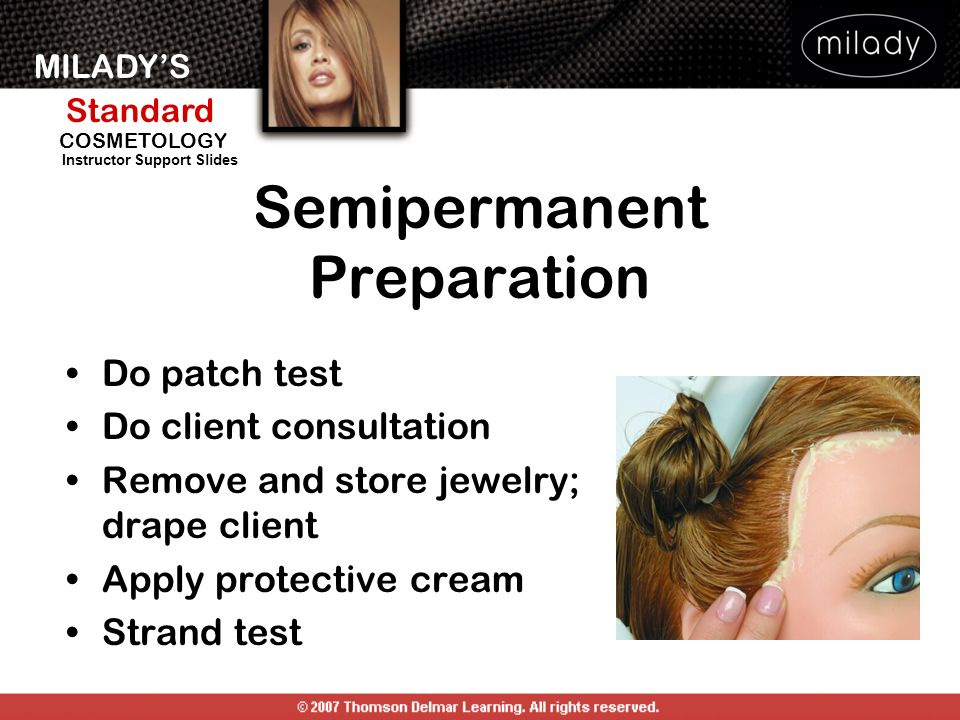 Semipermanent Preparation