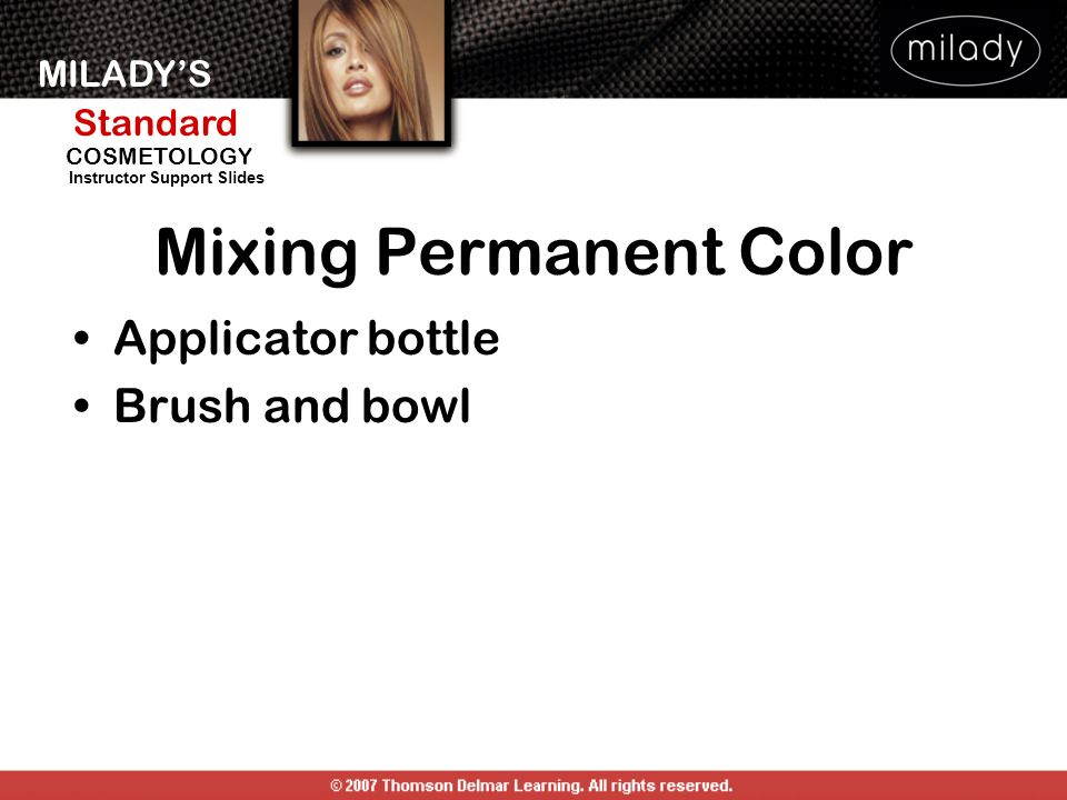 Mixing Permanent Color