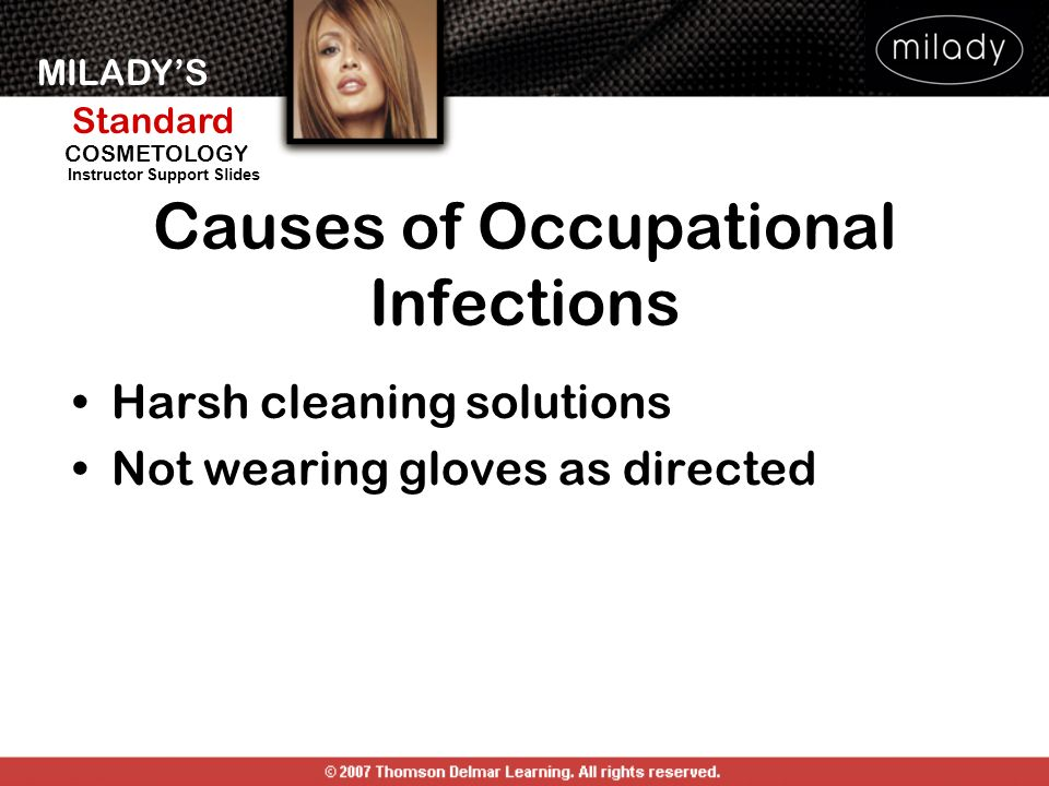Causes of Occupational Infections