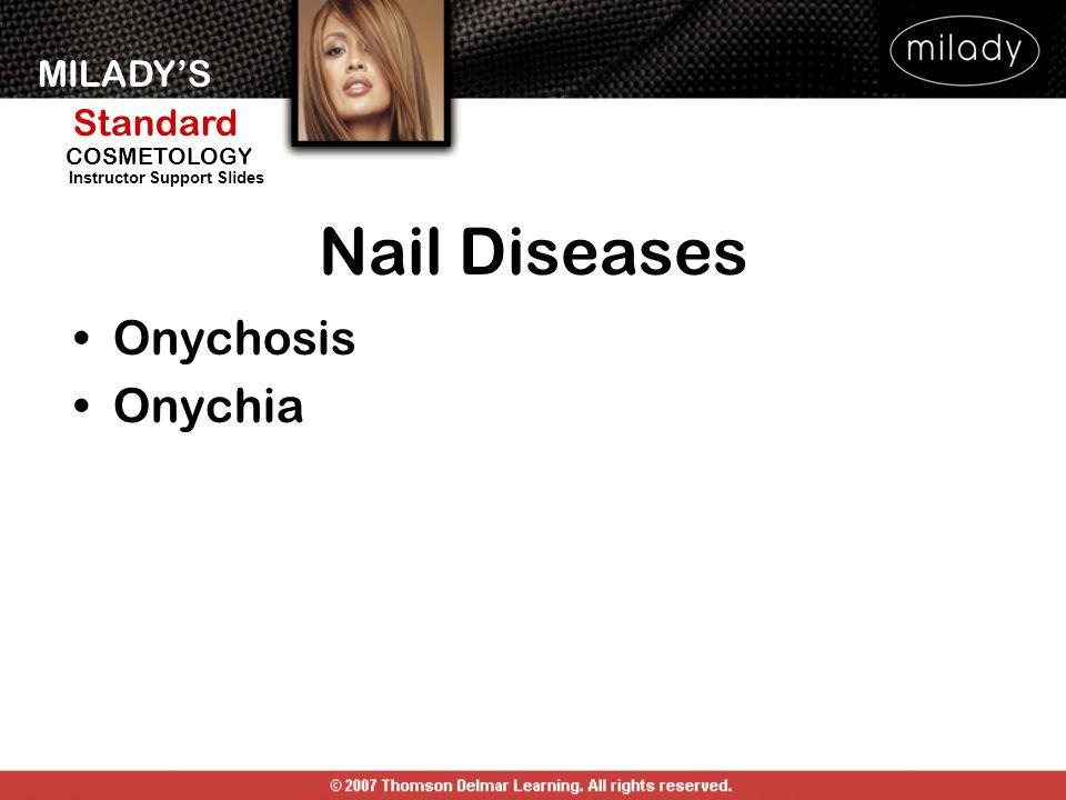 Nail Diseases Onychosis Onychia DISEASES OF THE NAIL