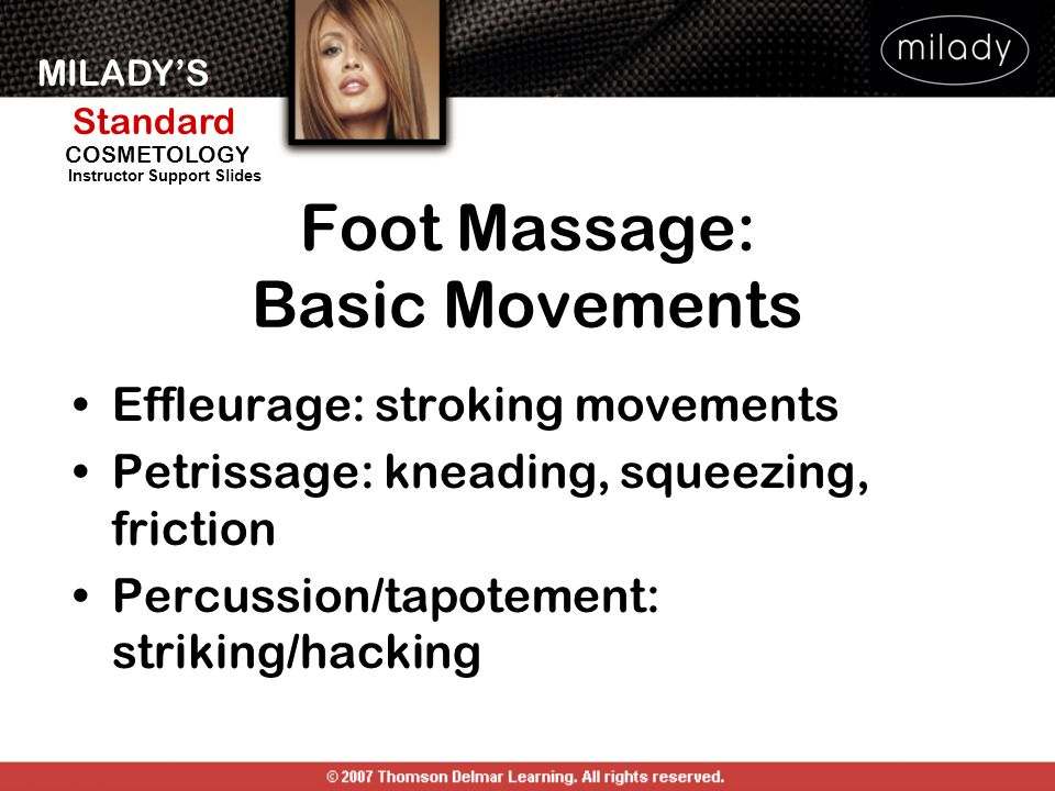 Foot Massage: Basic Movements