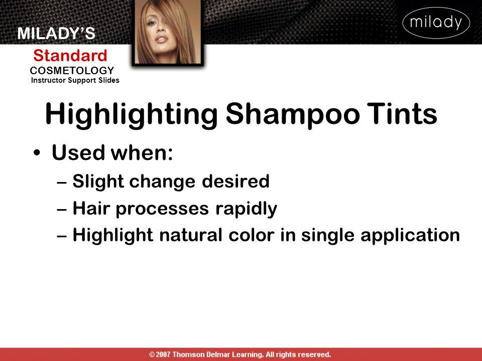 Highlighting Shampoo Tints