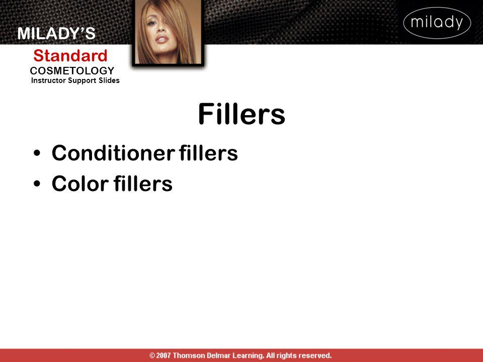 Fillers Conditioner fillers Color fillers