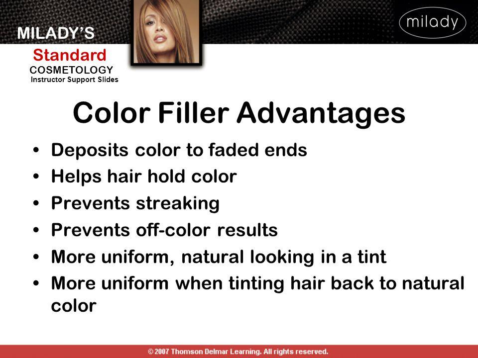 Color Filler Advantages