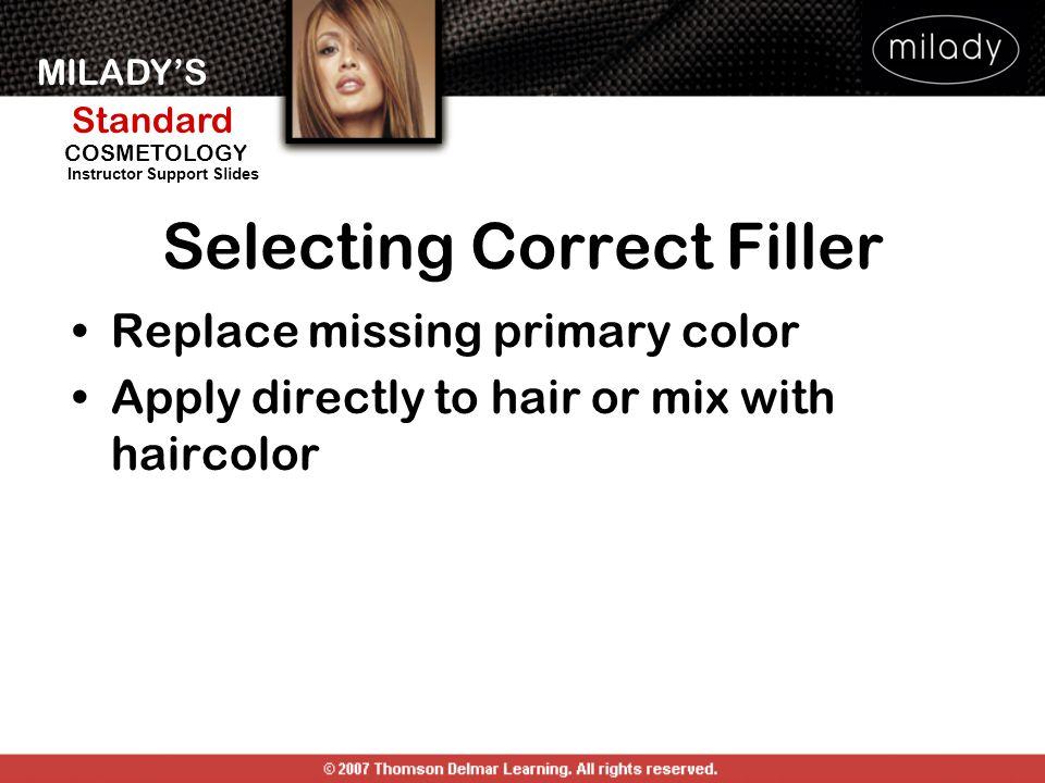 Selecting Correct Filler