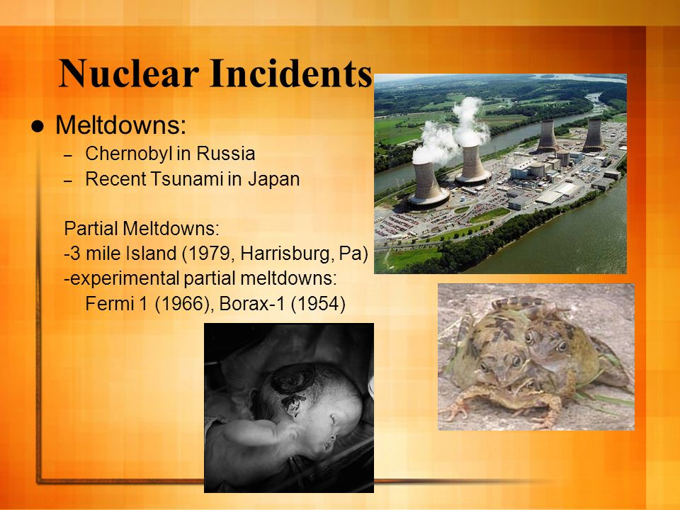 Nuclear Incidents Meltdowns: Chernobyl in Russia