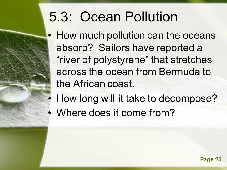 5.3: Ocean Pollution