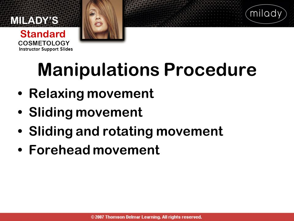 Manipulations Procedure