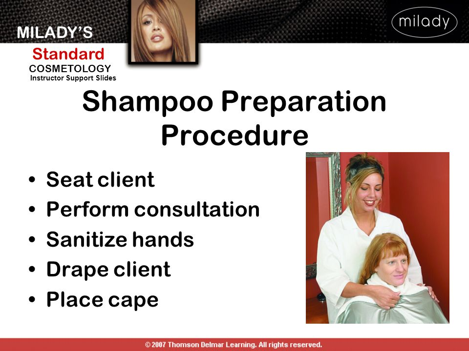 Shampoo Preparation Procedure