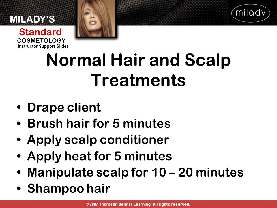 Normal Hair and Scalp Treatments