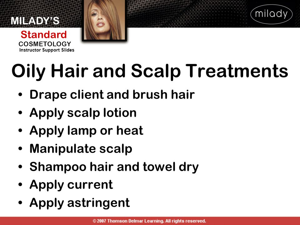Oily Hair and Scalp Treatments