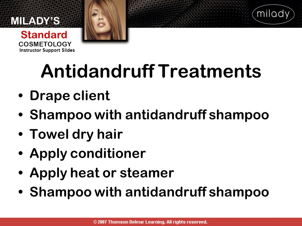 Antidandruff Treatments
