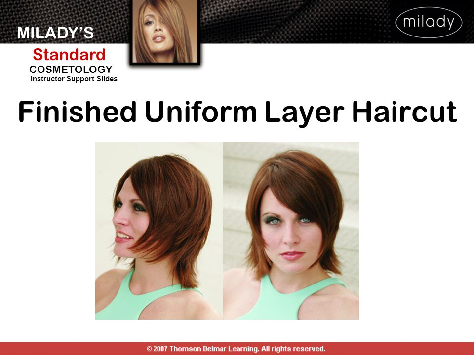 Finished Uniform Layer Haircut