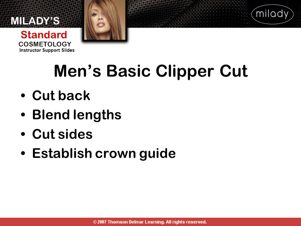 Men's Basic Clipper Cut