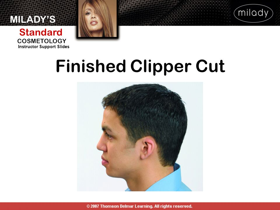 Finished Clipper Cut
