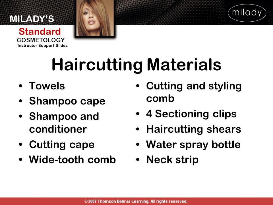 Haircutting Materials