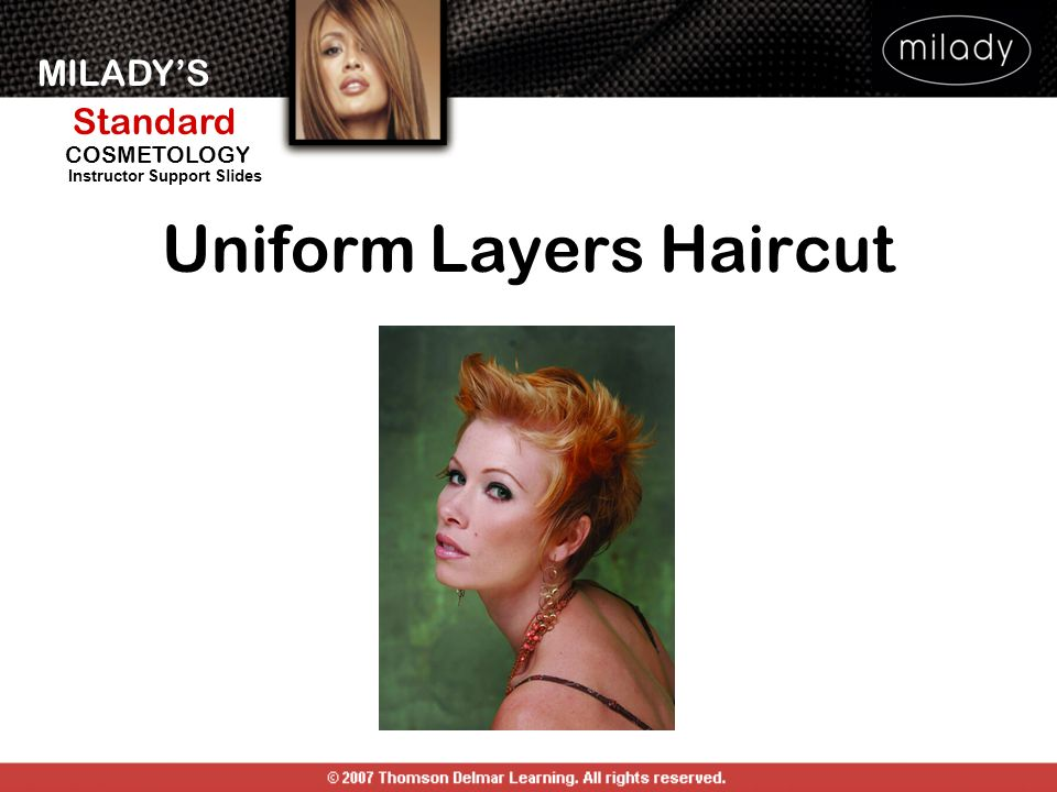 Uniform Layers Haircut