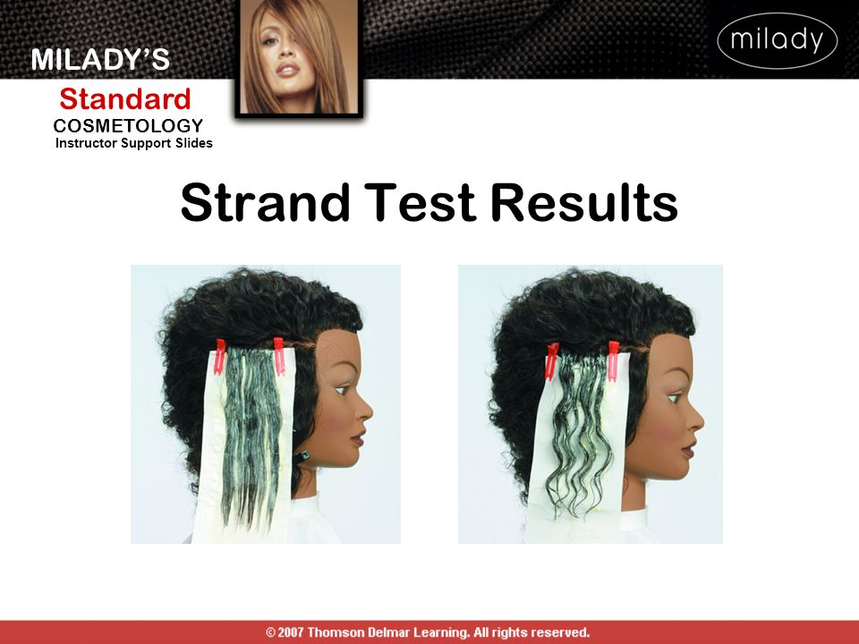 Strand Test Results