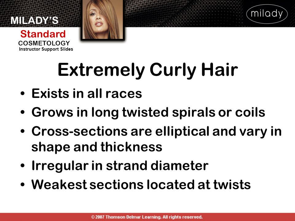 Extremely Curly Hair Exists in all races