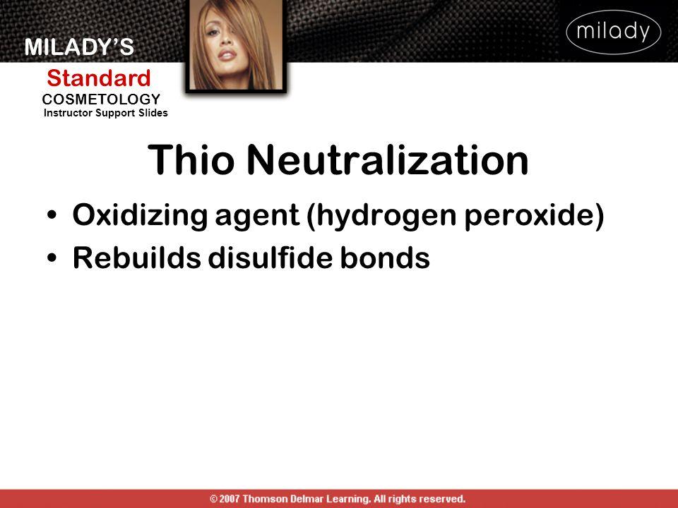 Thio Neutralization Oxidizing agent (hydrogen peroxide)