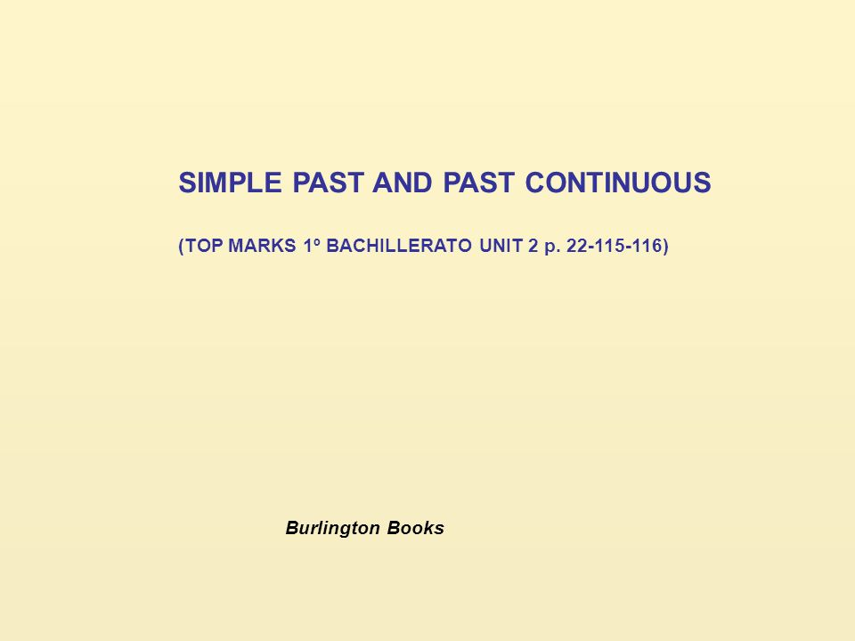 past simple and past continuous pdf