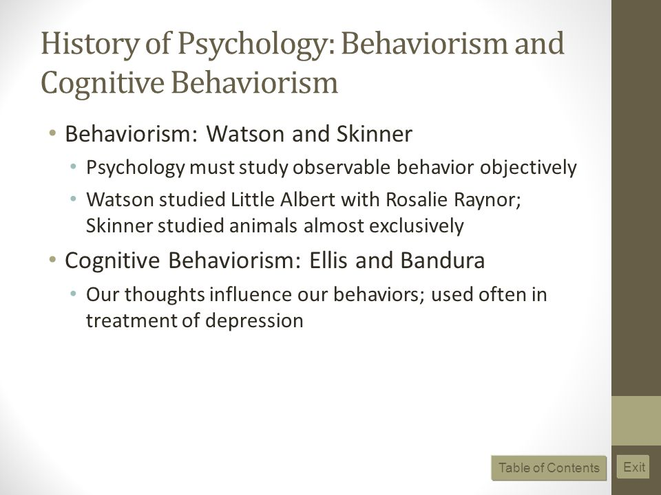 an introduction to skinners study on behaviorism 1 what motivates our behavior according to skinner s theory is it internally or externally motivated section 1 learning and applying the theories sigmund freud case study 1 application questions use freud's states of consciousness and stages of psychosexual development to help explain hank's behavior by answering the following.