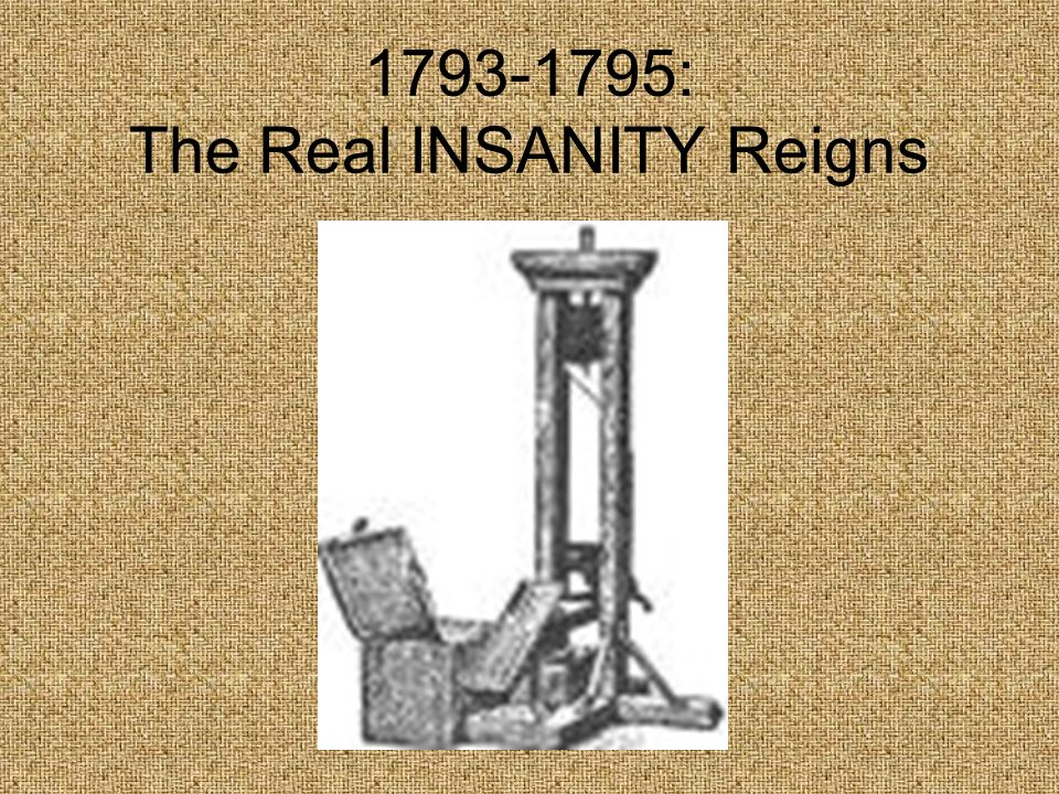: The Real INSANITY Reigns