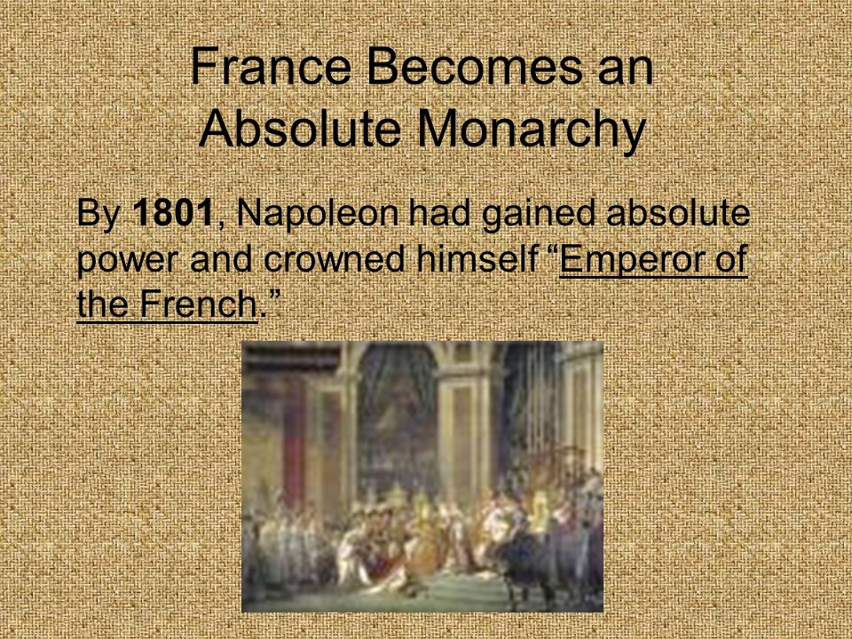France Becomes an Absolute Monarchy