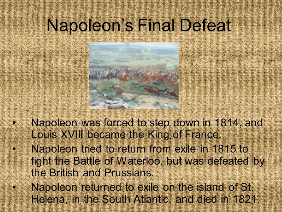 Napoleon's Final Defeat