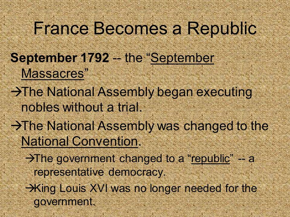 France Becomes a Republic