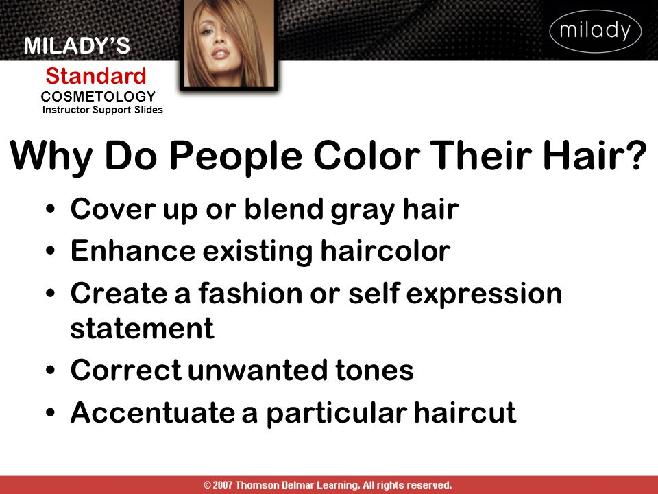 Why Do People Color Their Hair