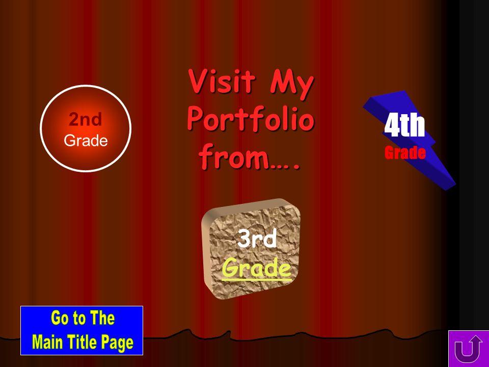 Visit My Portfolio From