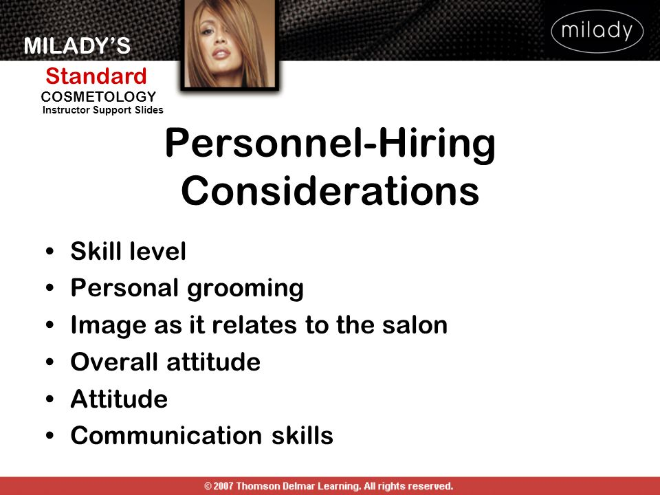 Personnel-Hiring Considerations