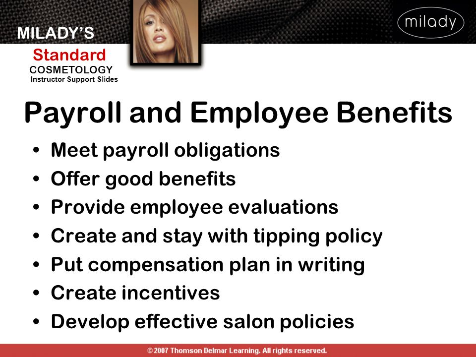 Payroll and Employee Benefits