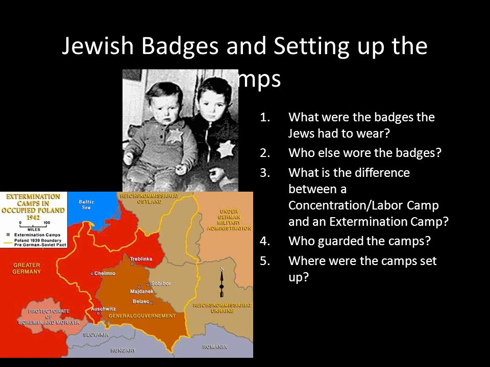 Jewish Badges and Setting up the Camps