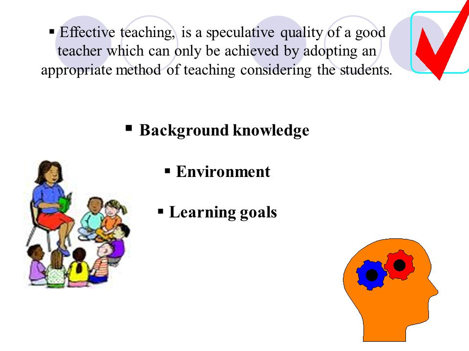 Background knowledge Environment Learning goals